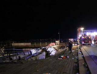 В Испании во время концерта обрушилась сцена – сообщается о сотнях пострадавших