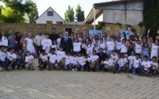 На Одесчине прошел седьмой детско-юношеский лагерь Союза армян Украины