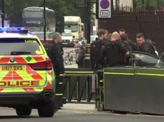 В Лондоне автомобиль протаранил ограду парламента – есть пострадавшие