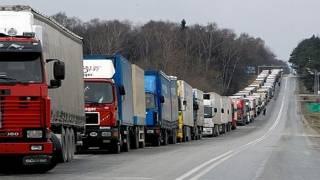 В Киеве введен запрет на въезд грузовиков