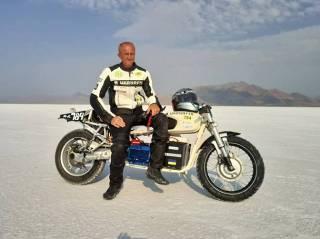 Украинец установил мировой рекорд скорости на электрическом мотоцикле