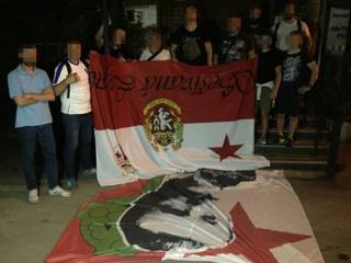Фанаты «Динамо» знатно намяли бока гостям из Чехии перед матчем со «Славией»