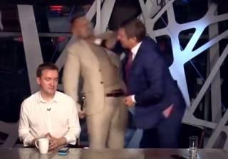 На телеканале дважды подрались нардепы Мосийчук и Шахов