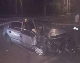 В Киеве разбилось такси – погибла пассажирка