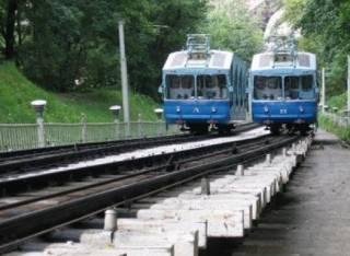 Киевский фуникулер возобновит работу после техосмотра