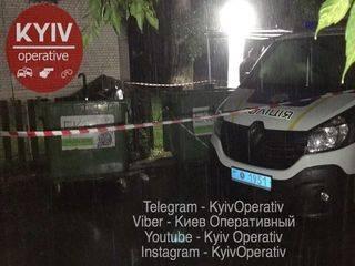 В Киеве в мусорном баке нашли мертвого младенца