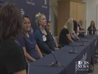 В американской больнице одновременно забеременели сразу 16 медсестер