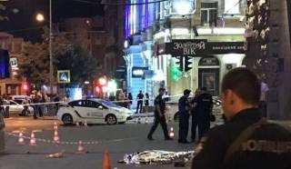 В Сети появилось видео смертельной перестрелки в Харькове