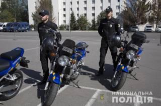 В Украине появились первые мото-копы