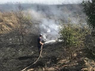 Из-за горящего отстойника Кременчуг окутал зловонный смог
