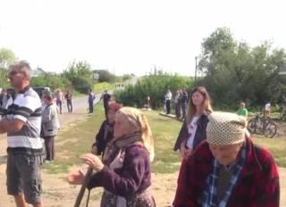 На Прикарпатье местные жители устроили бунт после отключения газа