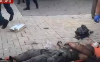 На кадрах с места убийства Захарченко виден обгоревший труп
