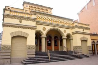 В Киеве задержали мужчину, расписавшего синагогу Бродского политическими граффити