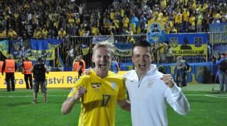 Сборная Украины начинает путь в Лиге наций с тяжелой победы в Чехии