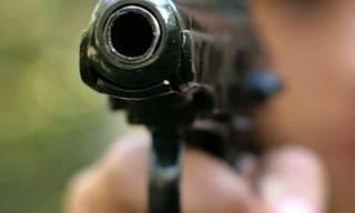 На суровой Николаевщине дедуля из самодельного пистолета открыл стрельбу по детям