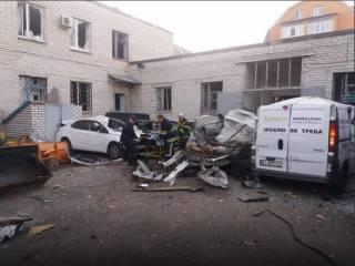 В центре Кременчуга взорвался автомобиль. Водителя спасти не удалось