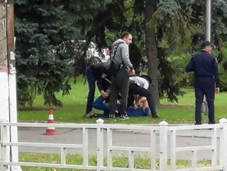 «Со спущенными штанами»: стали известны подробности инцидента с подполковником СБУ в Херсоне