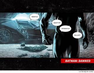 Создатели Бэтмена впервые вывалили на всеобщее обозрение его мужское достоинство. Четыре раза