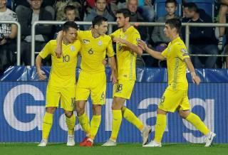 Сборная Украины по футболу за месяц добилась самого большого прогресса среди всех команд мира