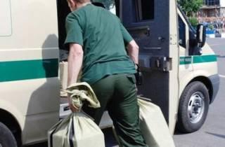 В Одессе совершено дерзкое нападение на инкассаторов. Ранены два человека, похищено 200 тыс. грн