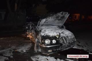 После полицейской погони в Николаеве от сердечного приступа скончался водитель Jaguar