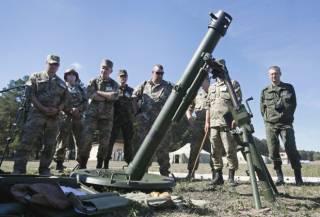Взорвался очередной запрещенный «миномет Пашинского». Трое украинских военных — в больнице