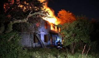 В Одессе снова горел санаторий. Охранники говорят о поджоге