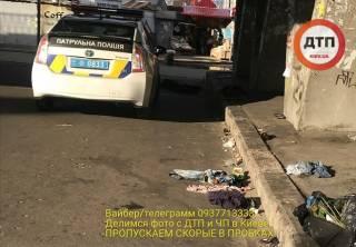 Первая жертва холодов: в Киеве нашли околевшего бомжа