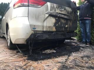 На Одесщине депутату от «Оппоблока» сожгли машину