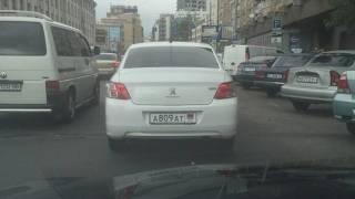 В Киеве замечена машина с номерами «ДНР»
