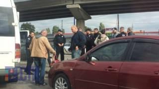 На Черкасчине вооруженные люди захватили маршрутку, взяв в заложники пассажиров