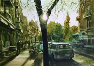 «Киев. Улица. Акварель» - в столице открывается знаковая выставка