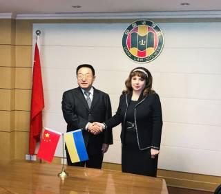 Карпачева напомнила, что Украина одной из первых поддержала инициативу президента КНР