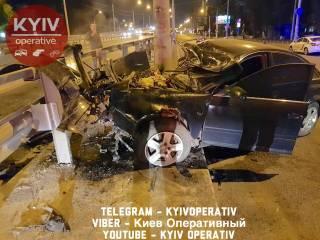 Киевский полицейский попал в жуткое ДТП на Нивках. Во второй раз