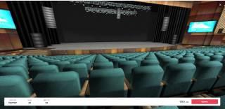 В Украине появился билетный сервис с 3D-туром по концертным залам
