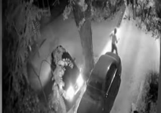 В Днепре пенсионер под покровом ночи повредил 40 автомобилей