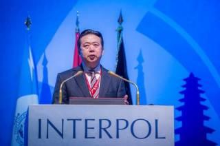 В Китае таинственно исчез глава Интерпола