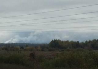 У Кличко заявили, что взрывы боеприпасов в Черниговской области Киеву не угрожают