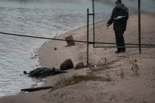 В столичном Гидропарке обнаружен труп женщины, которая частенько попадалась на глаза рыбакам