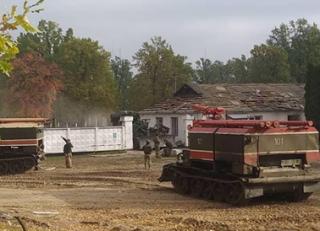 Военные рассказали, что происходит на арсенале под Ичней, где до сих пор взрываются снаряды