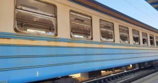 Под Киевом малолетние вандалы разгромили вагон электрички. Ущерб колоссальный