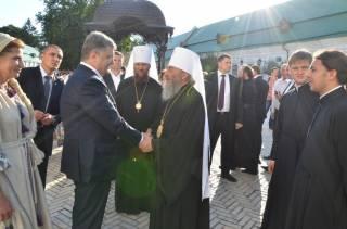 Порошенко встречался с главой УПЦ Онуфрием и умолял его о помощи в автокефальных делах