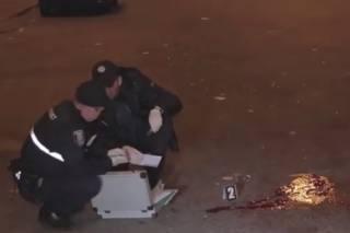 В Киеве вооруженные кавказцы жестоко избили двух мужчин