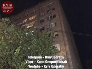 Ночные посиделки на Борщаговке привели к взрыву, разбудившему всю округу