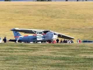 В Германии самолет «прошил» группу людей, есть жертвы