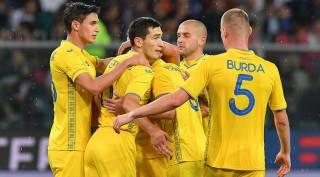 Сборная Украины по футболу досрочно выиграла свою группу в Лиге наций