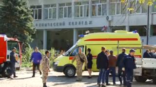 На месте взрыва в Керчи нашли еще одно взрывное устройство. Есть мнение, что террорист действовал не один