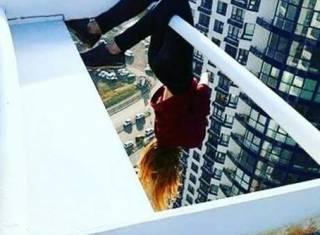 Киевские подростки нашли себе новое экстремально опасное развлечение