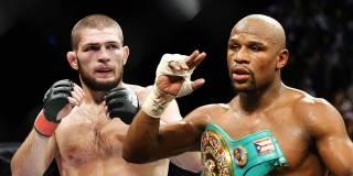 «Приходи в бокс — и я уложу тебя спать»: Мейвезер назвал условия боя с Нурмагомедовым. И не только