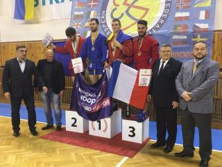 Виктор Медведчук поздравил сборную команду Украины по боевому самбо с победой на чемпионате Европы